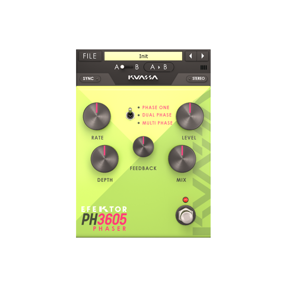 Kuassa - Efektor PH3605 Phaser