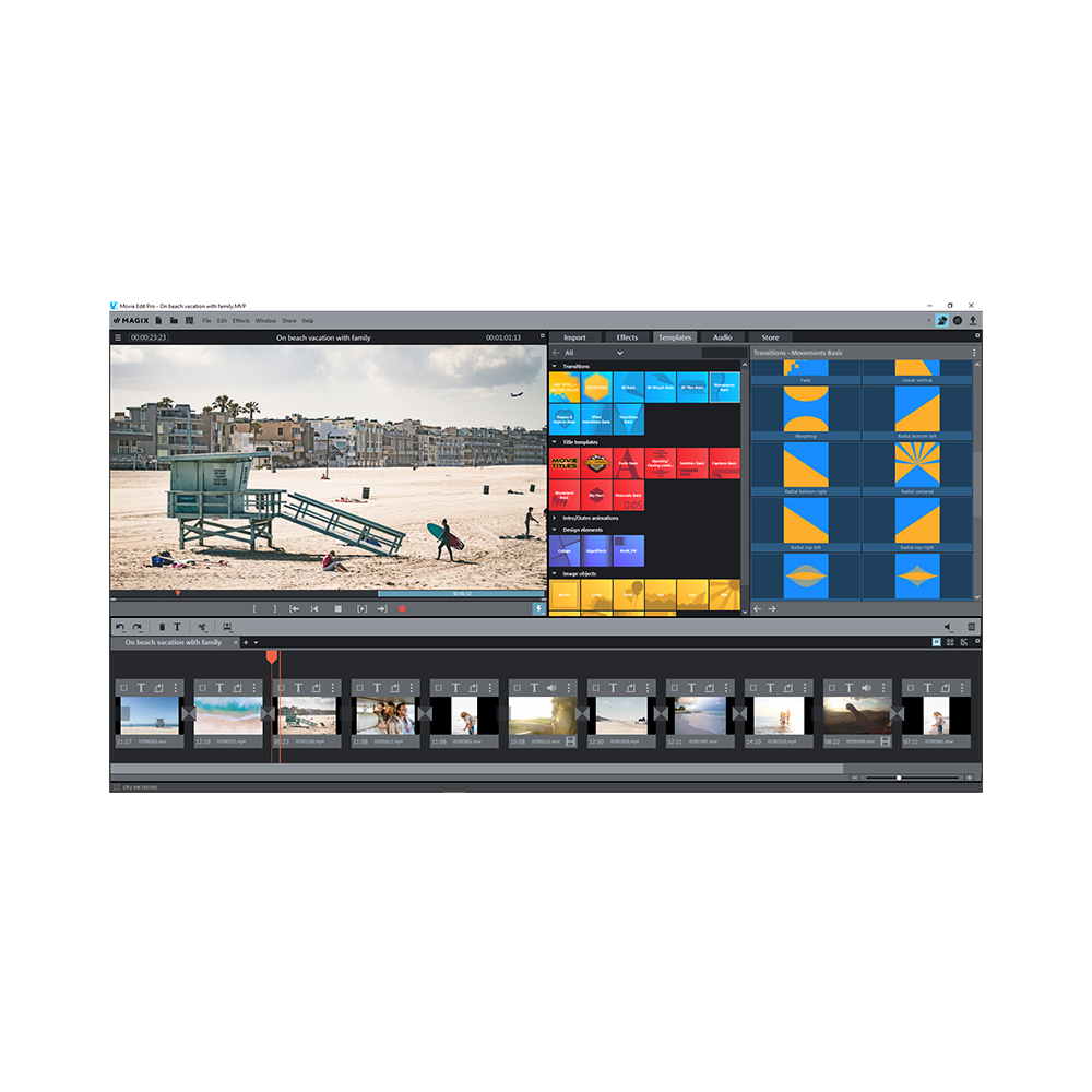 MAGIX - Movie Edit Pro Premium 2020 (PC)