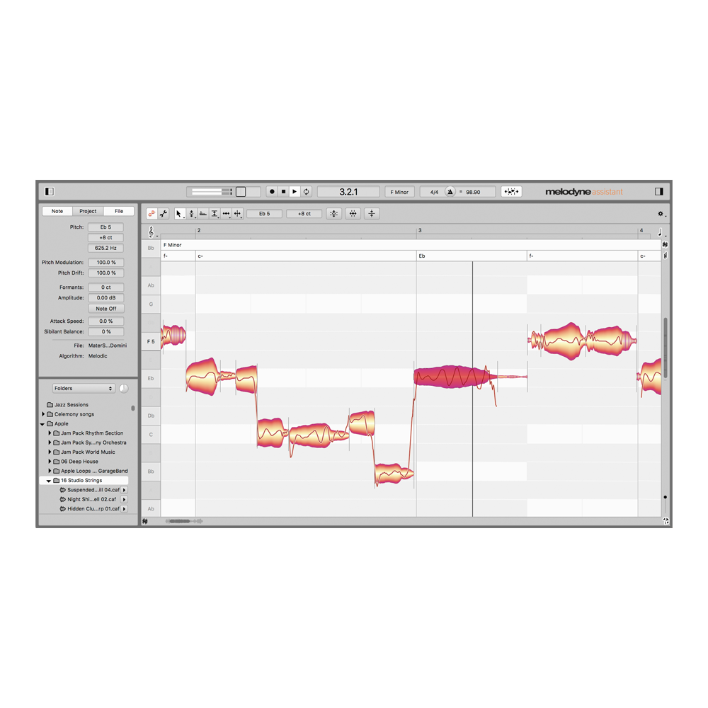 Celemony - Melodyne 5 Assistant (Upgrade from Assistant)