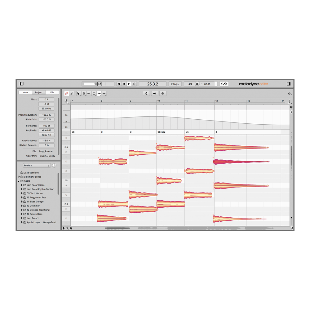 Celemony - Melodyne 5 Editor (Upgrade from Essential)