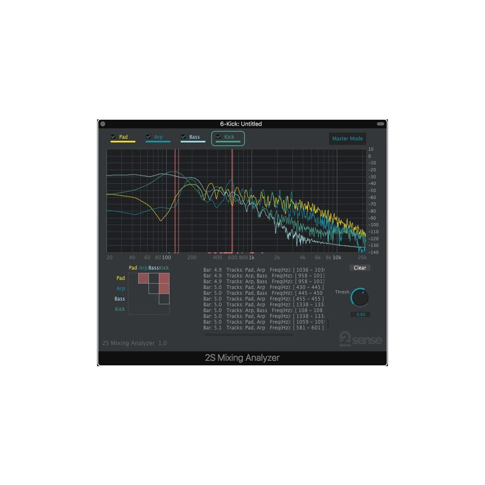 2nd Sense Audio - Mixing Analyzer