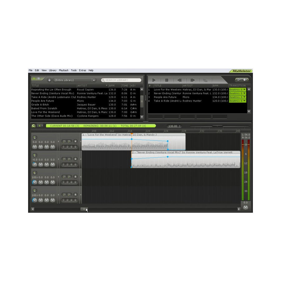 MixMeister - Fusion (DJ Performance Software)