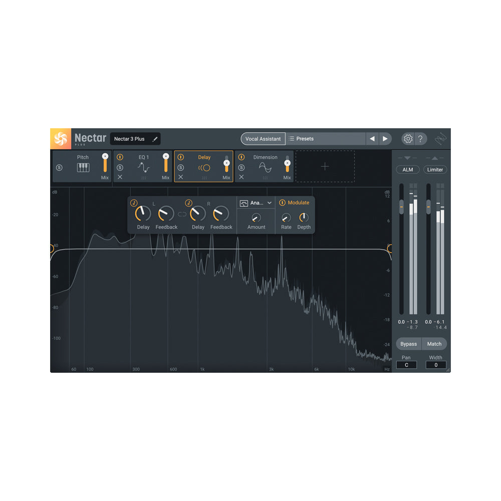 iZotope - Nectar 3 Plus (Upgrade from any previous version of Nectar)