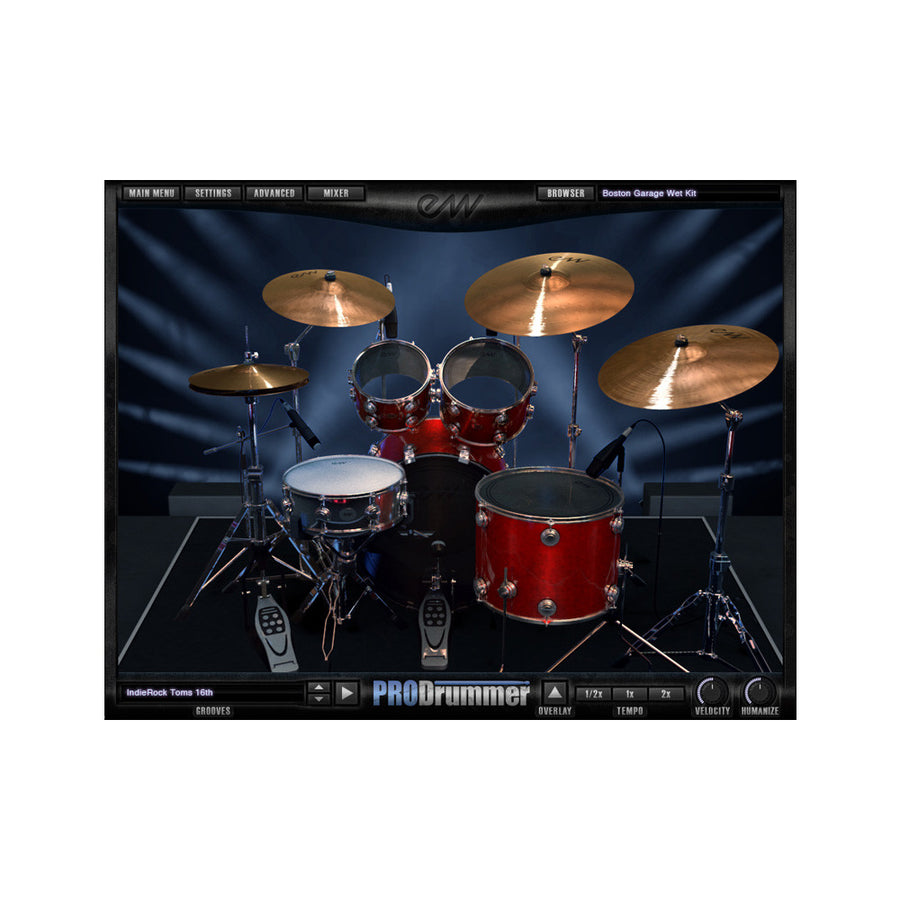 EastWest - ProDrummer 1 & 2 Bundle