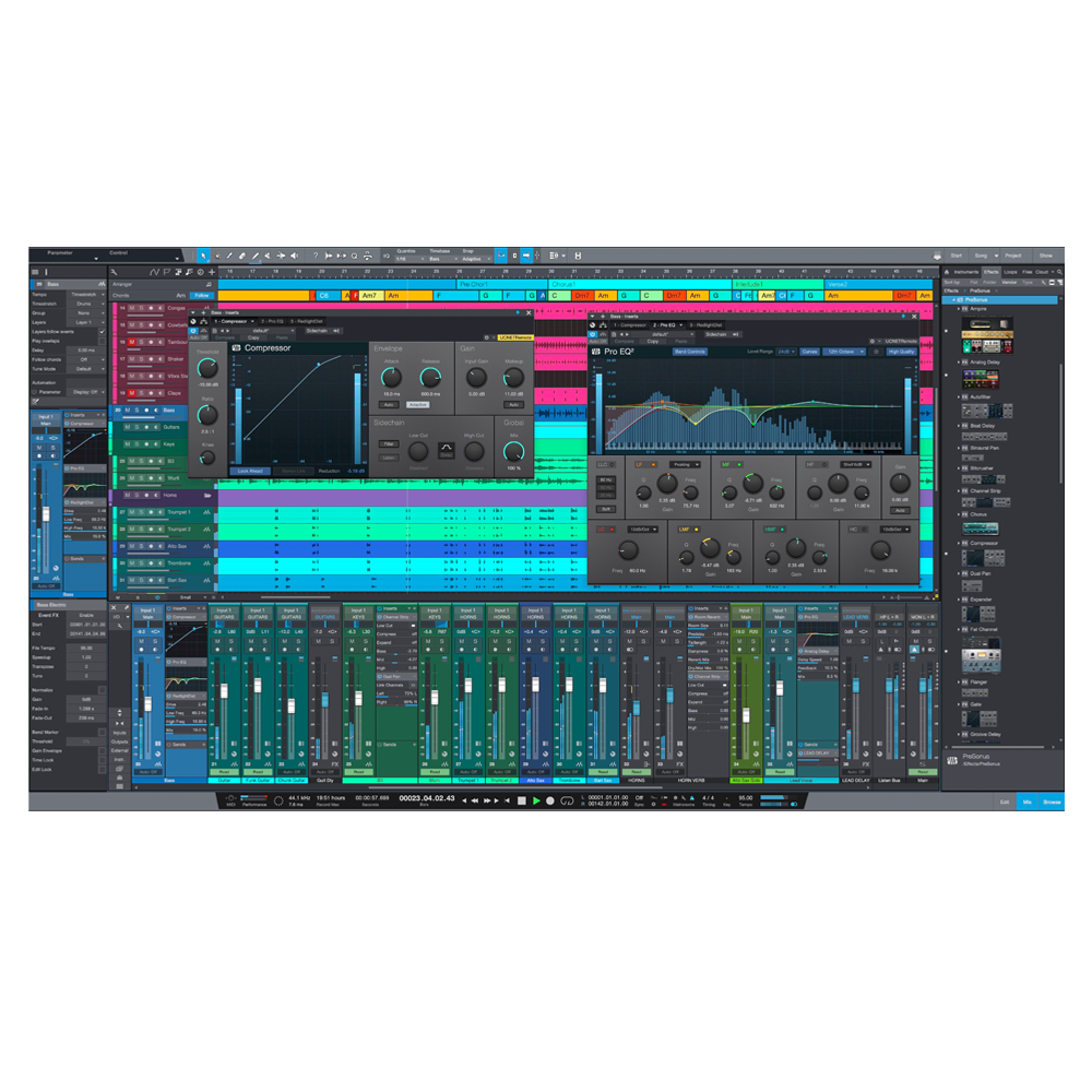 PreSonus - Studio One 5 Professional (Upgrade from S1 Producer/Pro)