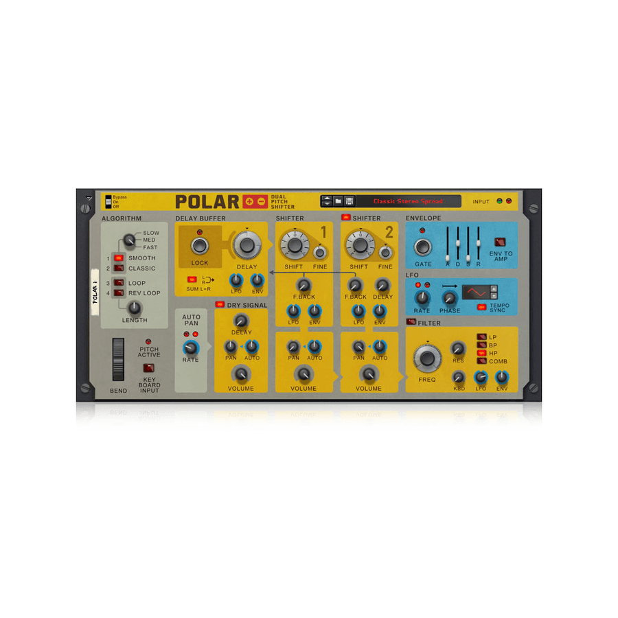 Propellerhead - Polar Pitch Shifter (Rack Extension)