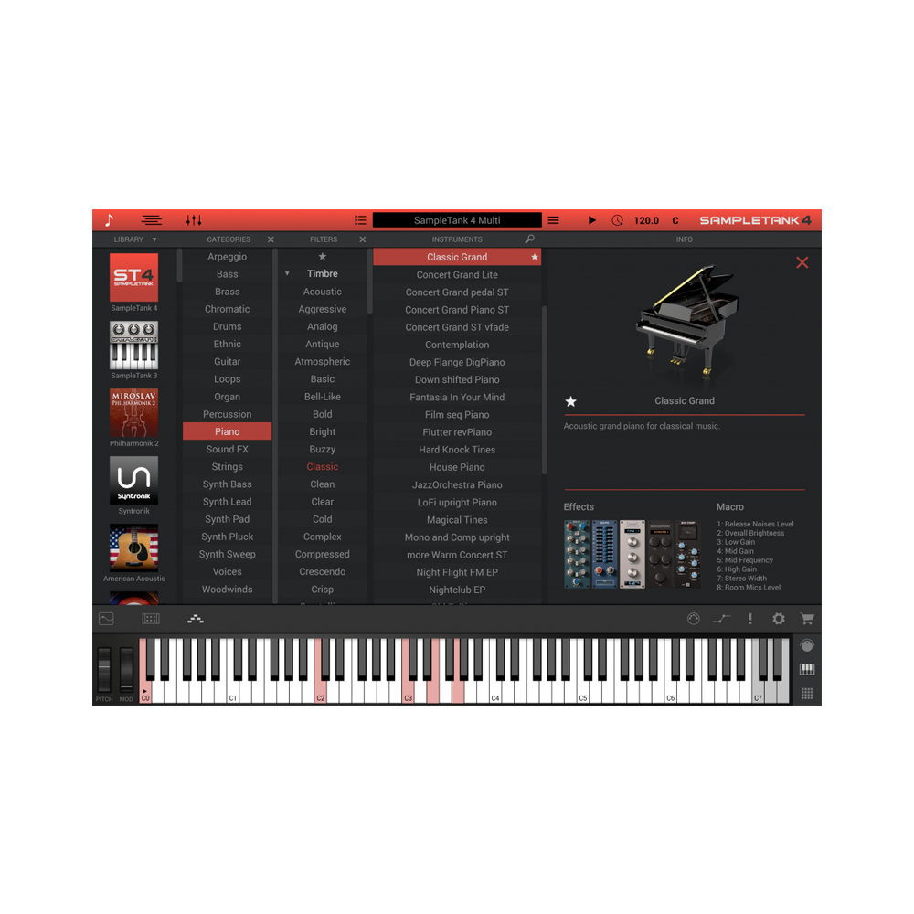 IK Multimedia - SampleTank 4 SE