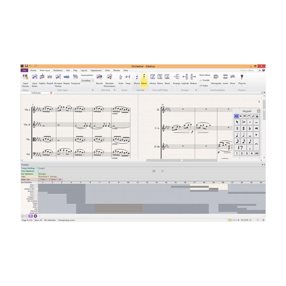 Avid - Sibelius | Ultimate Perpetual License (1-Year Upg + Support Plan REINSTATEMENT)