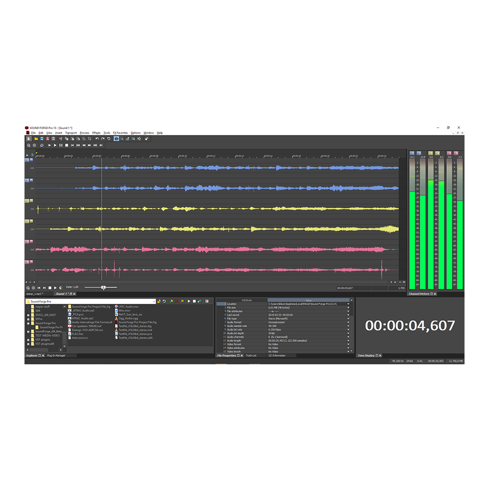 MAGIX - Sound Forge Pro 14
