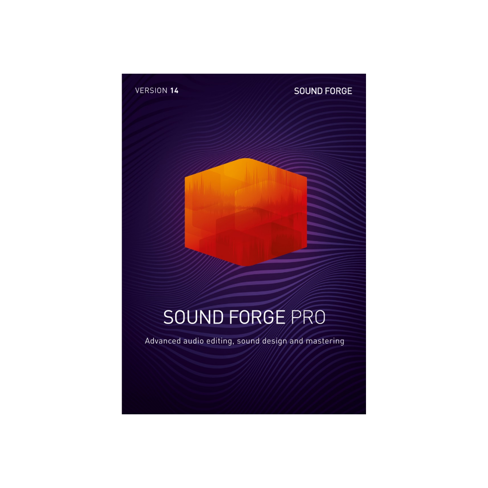 MAGIX - Sound Forge Pro 14 (PC-Upgrade)