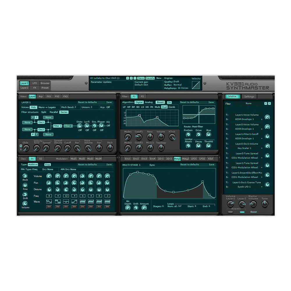 KV331 Audio - SynthMaster Everything Bundle (Upgrade from SynthMaster)