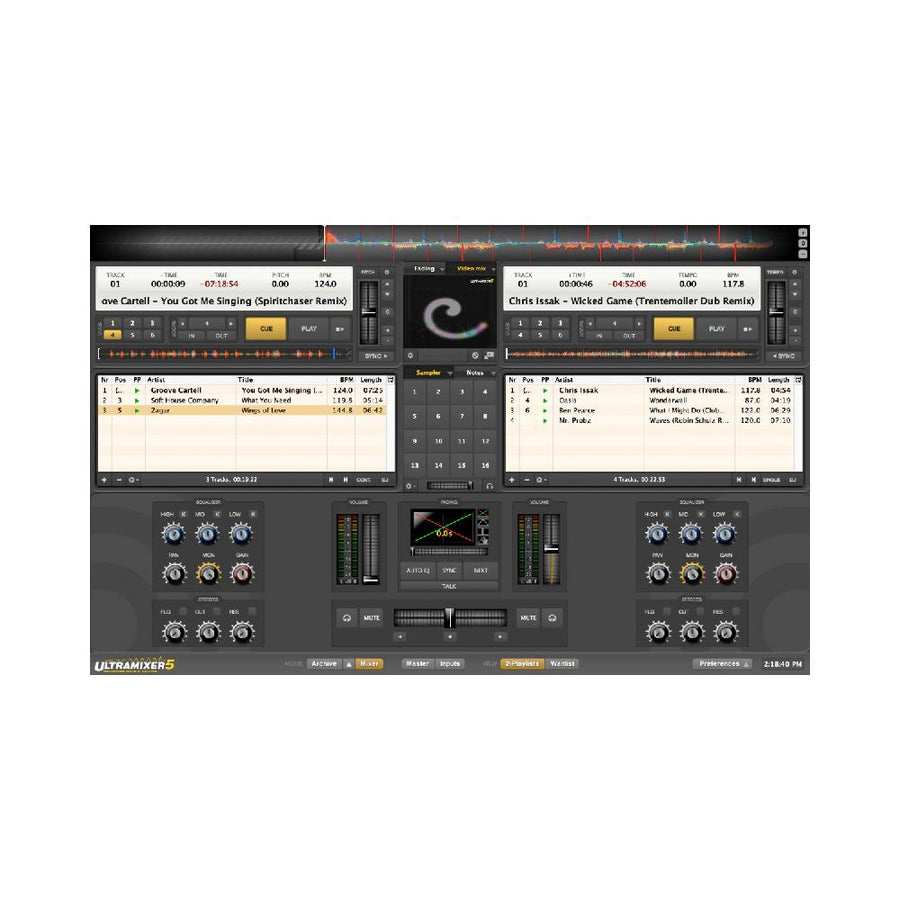 UltraMixer - Pro 5 for Win (Mobile DJ/VJ Software)