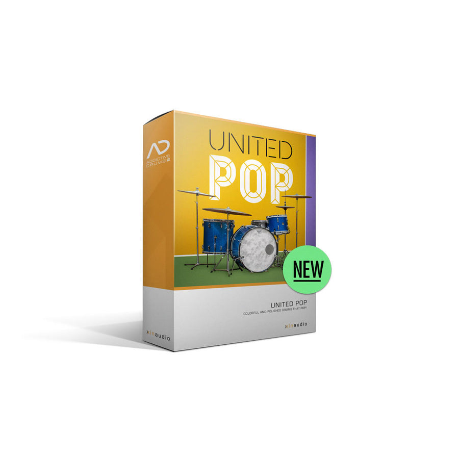 XLN Audio - Addictive Drums 2: United Pop ADpak