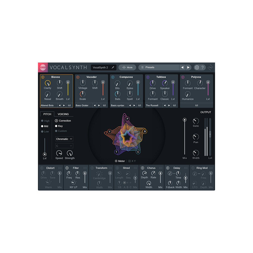 iZotope - VocalSynth 2 (Upgrade from VocalSynth 1)