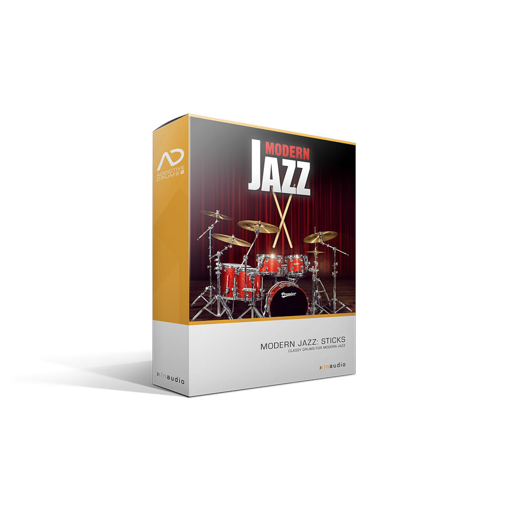 XLN Audio - Modern Jazz Sticks ADpak (Expansion)