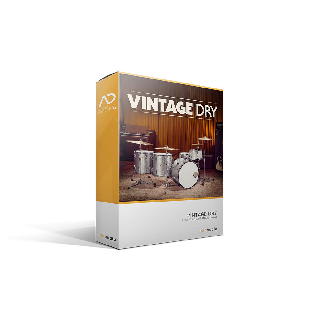 XLN Audio - Vintage Dry ADpak (Expansion)