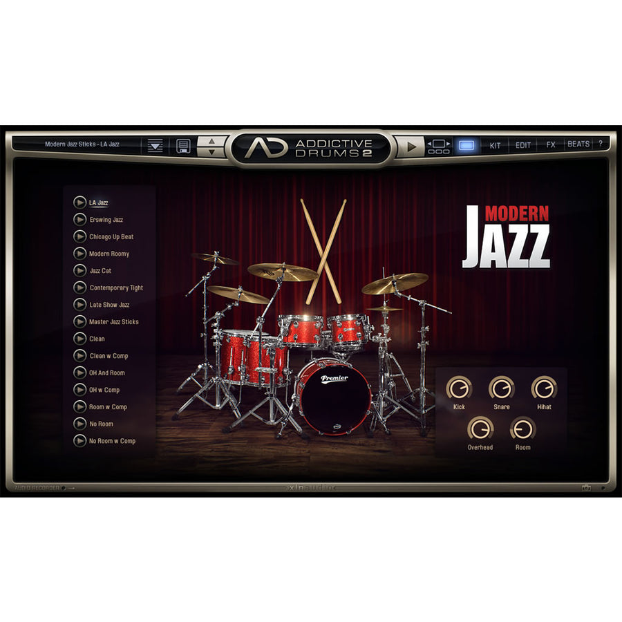 XLN Audio - Addictive Drums 2: Modern Jazz Sticks ADpak