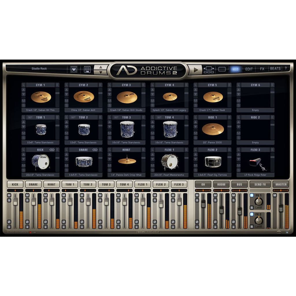 XLN Audio - Studio Rock ADpak (Expansion)