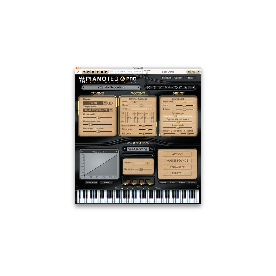 Pianoteq - YC5 Rock Piano