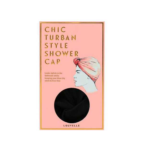 Dahlia Shower Cap BLACK
