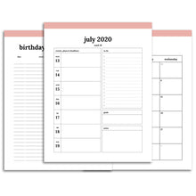 Load image into Gallery viewer, 2020-2021 16 Month Planner | Classic-Rings and Disc Planner-Confetti Saturday