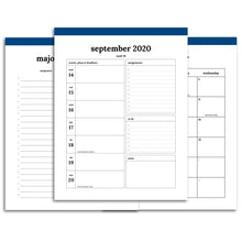 Load image into Gallery viewer, 2020-2021 Student Planner | Classic-Rings and Disc Planner-Confetti Saturday