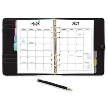 Load image into Gallery viewer, 2021 Monthly Calendars Inserts, MO2P | City