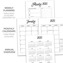Load image into Gallery viewer, 2021 Day Planner | City