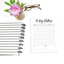 Load image into Gallery viewer, 30 Day Challenge Planner | City