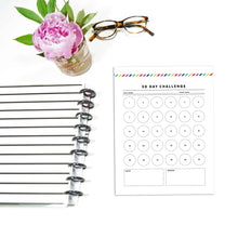 Load image into Gallery viewer, 30 Day Challenge Planner | Signature Stripe