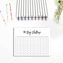 Load image into Gallery viewer, 90 Day Challenge Planner | City