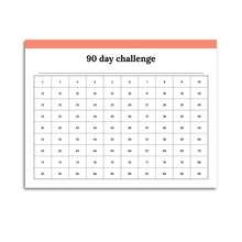 Load image into Gallery viewer, 90 Day Challenge Planner | Classic