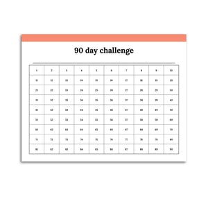 90 Day Challenge Planner | Classic