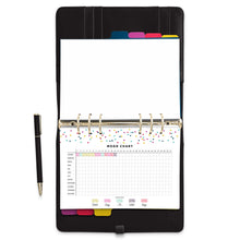 Load image into Gallery viewer, Yearly Mood Chart Planner Pages-Confetti Saturday