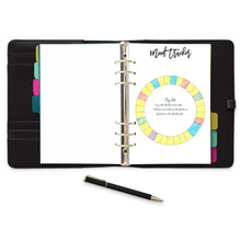 Load image into Gallery viewer, Monthly Mood Tracker Planner Pages-Confetti Saturday