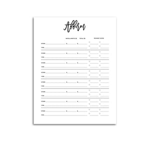 Affirm Purchase Tracker | City