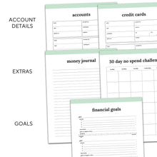 Load image into Gallery viewer, Budget Planner | Classic-Rings and Disc Planner-Confetti Saturday