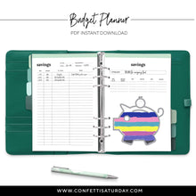 Load image into Gallery viewer, Budget Planner Printable-Confetti Saturday