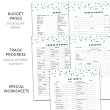 Load image into Gallery viewer, Budget Planner | Signature Confetti