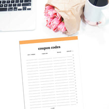 Load image into Gallery viewer, Coupon Code Tracker | Classic-Rings and Disc Planner-Confetti Saturday
