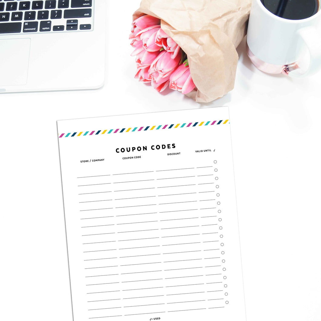 Coupon Code Tracker | Signature Stripe