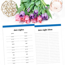 Load image into Gallery viewer, printable date night planner
