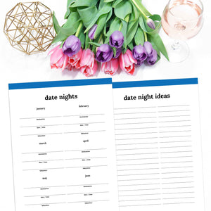printable date night planner