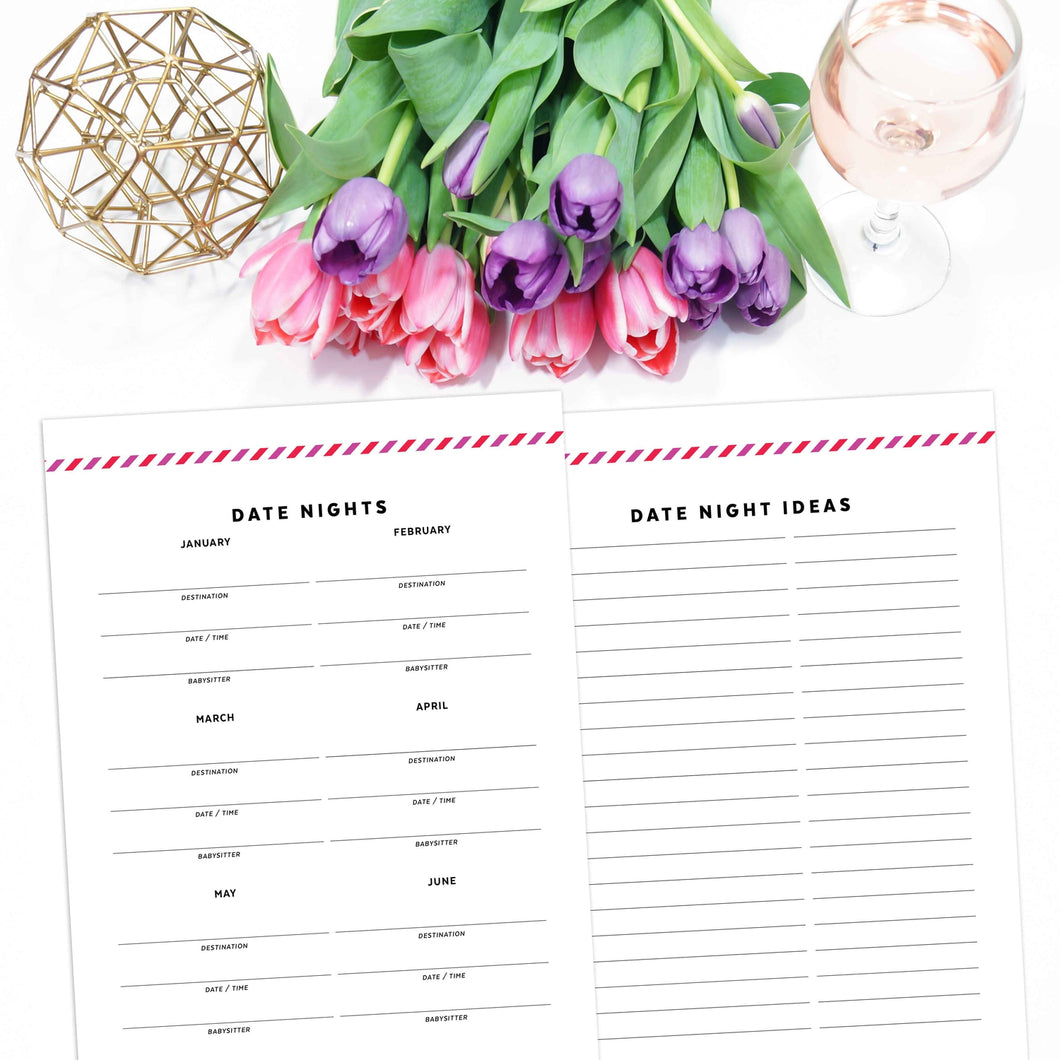 date night printable pages