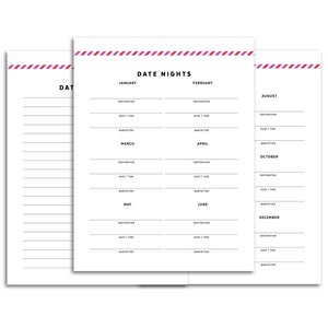 date night pages