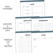 Load image into Gallery viewer, Meal Planner | Classic-Rings and Disc Planner-Confetti Saturday