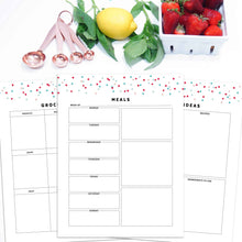 Load image into Gallery viewer, Meal Planner | Signature Confetti