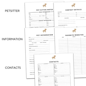 Pet Planner | Signature Icon