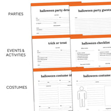 Load image into Gallery viewer, Halloween Planner | Classic-Rings and Disc Planner-Confetti Saturday