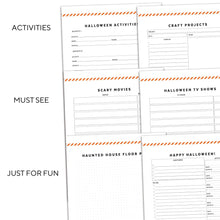 Load image into Gallery viewer, Halloween Planner | Signature Stripe